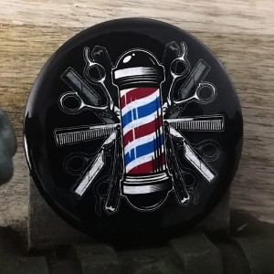 BarbeR Button - #002