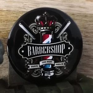 BarbeR Button - #003