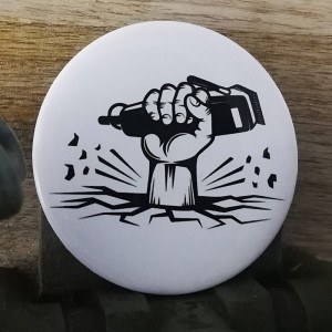 BarbeR Button - #006