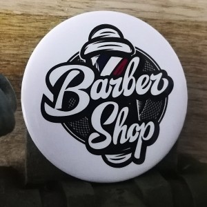 BarbeR Button - #007