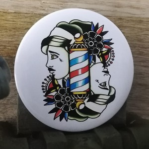 BarbeR Button - #008