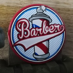 BarbeR Button - #009
