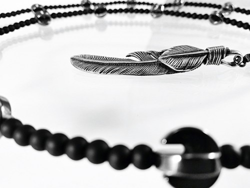 Naszyjnik Silver Feather - kaminskydesign.com